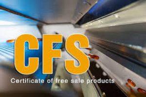 Công ty sản xuất trang thiết bị y tế có ISO 9001 có xin CFS xuất khẩu được không?